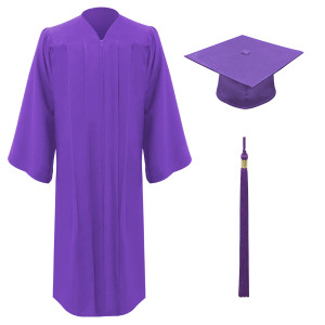Purple Freedom™ Cap, Gown & Tassel