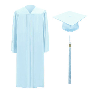 Sky Blue Freedom™ Cap, Gown & Tassel