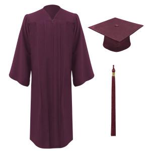Maroon Freedom™ Cap, Gown & Tassel