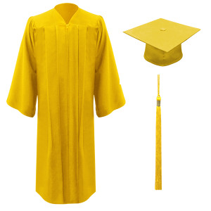 Gold Freedom™ Cap, Gown & Tassel