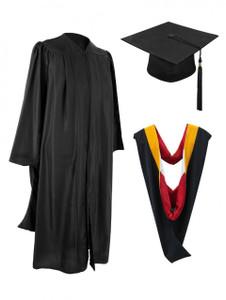 MASTER FREEDOM™ Gown, Hood, Cap & Tassel