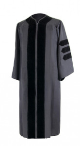 DOCTOR FREEDOM™ Black Gown
