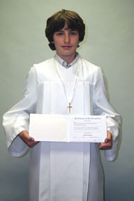 CONFIRMATION RENTAL GOWN PACKAGE #1