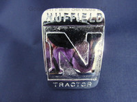 Front Cowling Badge Nuffield 'N' Tractor - W065