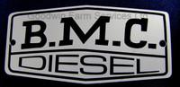 BMC Rocker Cover Badge Nuffield 345 465 - W091