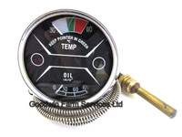 Temperature/Oil Pressure Gauge Nuffield - W169
