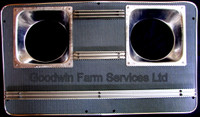 Front Grille QM Cab (Leyland) - W203