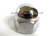 Chrome Steering Wheel Nut - W411