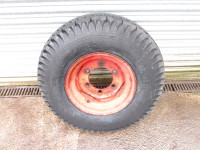 Trailer wheel 6 stud Vredestein 11.5/80-15.3 USED