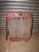 Used DB Radiator from 880 4 cylinder but may fit others.