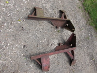 IH 434 etc loader brackets, early McCormick drive-in loader. USED