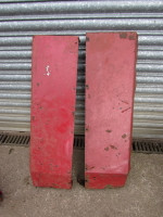 Pair of Used Lambourne Safety Cab wings. One wing does have a few holes £30.00 plus VAT pair UP325