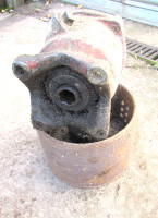 Belt Pulley Ferguson TE20 range 1 1/8 6 Spline PTO. Used but slight wear on spline but removed from working tractor. UP342