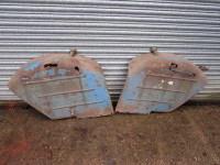 Pair Used original Fordson Super Major Wings. Some restoration required. UP344
