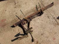 Nuffield DM4 Pedals & Cross shaft as removed from working tractor.  UP368