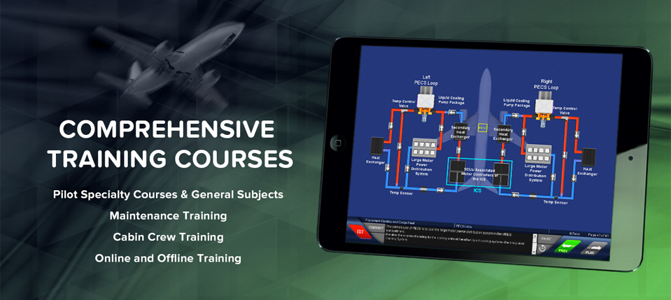 Comprehensive Training Courses. Pilot Speciality Courses & General Subjects, Maintenance Training, Cabin Crew Training, Online and Offline Training.