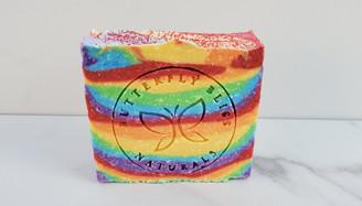 Bergamot Lime Rainbow Soap
