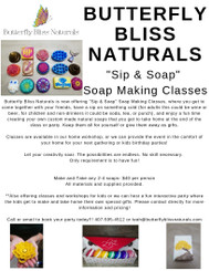 Sip & Soap- Soap Making Classes