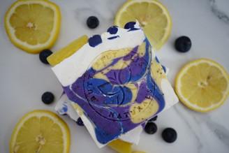 Blueberry Lemon Handcrafted Soap