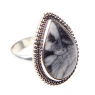 Pinolith Ring Size 7.5 #0324
