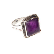 Amethyst Ring Size 7.5 #0388