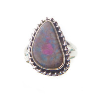 Ruby Fuchsite Ring Size 7.5 #0414