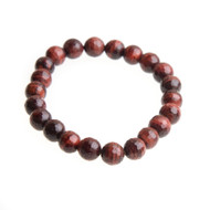 Red Tiger Eye Stretch Bracelet with 8mm Beads #0510