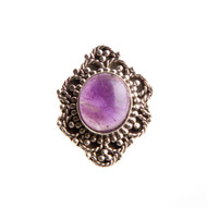 Amethyst Ring Size 5.25 #0494