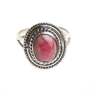 Thulite Ring Size 9 #0526