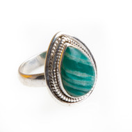 Amazonite Ring Size 6.75 #0639