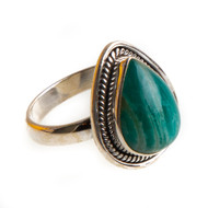 Amazonite Ring Size 9