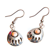 Native American Bear Claw Earrings #0725