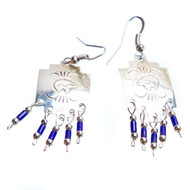 Native American Bear Earrings #0738