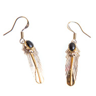 Native American Feather Earrings #0762