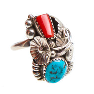 Native American Ring Size 8 #0801