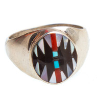 Native American Ring Size 9.25 #0811