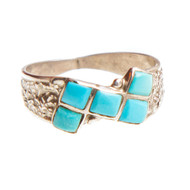 Native American Ring Size 8.25 #0842