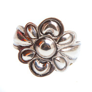 Native American Flower Ring Size 8.25 #0843