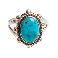 Native American Ring Size 9.75 #0887