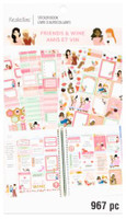 Recollections - Sticker Book - Friends & Wine