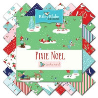 Riley Blake Fabric - Pixie Noel - Tasha Noel - Fat Quarter Bundle