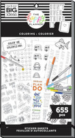 The Happy Planner - Me and My Big Ideas - Value Pack Stickers - Color Your Own (#655)