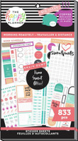 The Happy Planner - Me and My Big Ideas - Value Pack Stickers - Work From Home (#833)