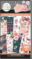 The Happy Planner - Me and My Big Ideas - Value Pack Stickers - Garden Flowers (#437)