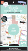 The Happy Planner - Me and My Big Ideas - Value Pack Stickers - Big - Happy Memory Keeping - So Happy (#639)