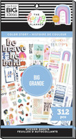 The Happy Planner - Me and My Big Ideas - Value Pack Stickers - Big - Color Story (#312)