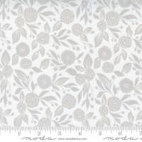 Moda Fabric - Christmas Morning - Lella Boutique - Winter Flora Blender Floral Tonal Snow #5143 11