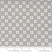 Moda Fabric - Christmas Morning - Lella Boutique - Bright Star Blender Quilt Block Farmhouse Dove #5144 13