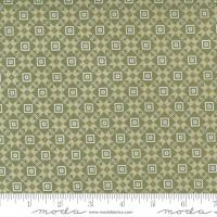 Moda Fabric - Christmas Morning - Lella Boutique - Bright Star Blender Quilt Block Farmhouse Pine #5144 15