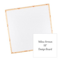 "Riley Blake Designs - Lori Holt - Yellow Arrows 18"" Design Board"
